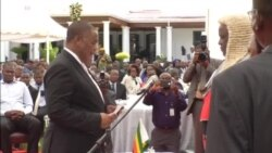Retired Army General Constantino Chiwenga Takes Oath as Zimbabwe Vice President