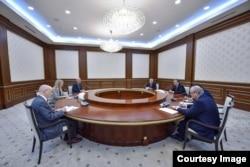 Prezident Mirziyoyev AQSh Davlat kotibi muovini Elis Uells bilan uchrashdi, Toshkent, 26-fevral, 2019