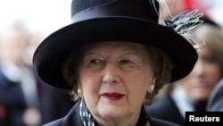 英國前首相撒切爾夫人﹐星期四中風後去世,終年87歲。
