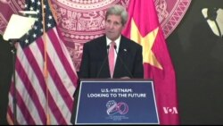 Kerry in Vietnam: Economic Progress, Human Rights Concerns Cited