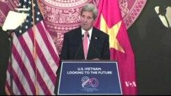 Kerry in Vietnam: Economic Progress, Human Rights Concerns Cited