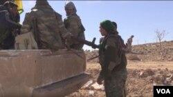 Hêzên Sûriya Demokratîk