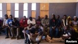 Des migrants interceptés à Agadez, au Niger (Reuters)