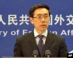Liu Weimin, porte-parole du ministère chinois des Affaires étrangères (archives)