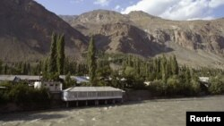 Khorog, Gorno-Badakhshan, near the Pamir mountains, Tajikistan