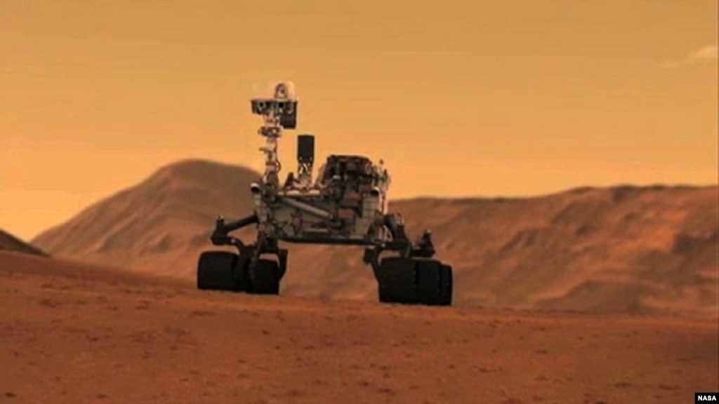 mars rover first photo - photo #13