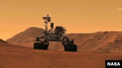 Mars Rover marks the end of its first year on Mars.