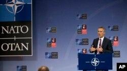 NATO အတြင္းေရးမွဴးခ်ဳပ္ Jens Stoltenberg