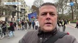 İngiltere'de Eylemler Sürüyor
