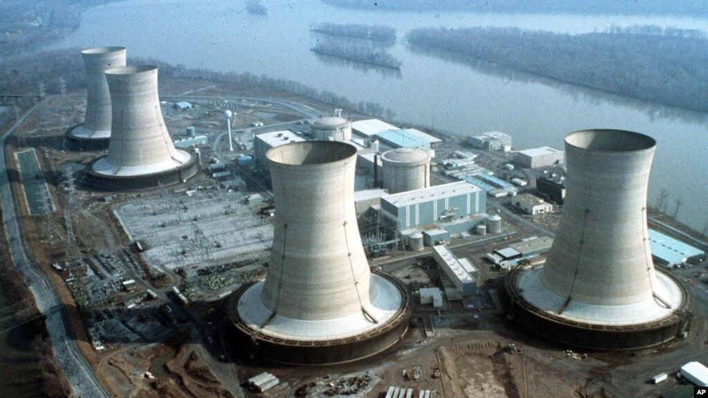 Ảnh tư liệu - Tổ hợp lò phản ứng gần Harrisburg, tiểu bang Pennsylvania.