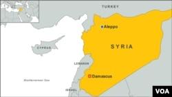 Aleppo and Damascus, Syria