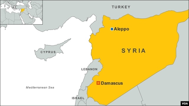 Aleppo and Damascus, Syria