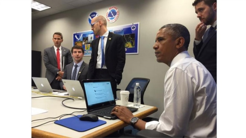 @POTUS Holds First Twitter Q+A