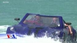 'Xe ô tô' đi trên mặt nước