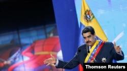 Ceremonia inaugural del nuevo mandato judicial en Caracas. Febrero, 2021. Foto: Reuters.