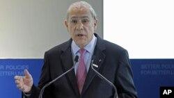 Tổng thư ký OECD Angel Gurria