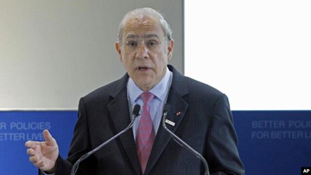 Secretary-General of the OECD Angel Gurria, May 22, 2012 (AP).