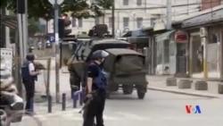 2015-05-10 美國之音視頻新聞:馬其頓警察與武裝組織發生衝突