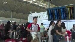 Reprise du trafic à l'aéroport de Hong Kong après les manifestations