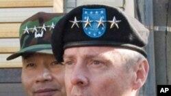 워터 샤프 주한 미군 사령관 (자료사진)