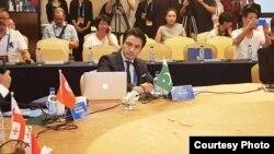 علی ظفر چین میں ہونے والی کانفرنس میں شریک ہیں