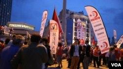 Gezi parkı aksiyası