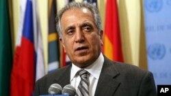 زلمی خلیلزاد سفیر پیشن امریکا در افغانستان و عراق