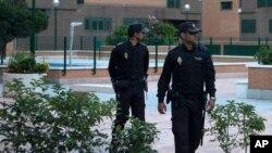 FILE- Spanish police.