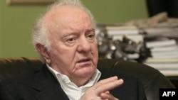 Эдуард Шеварднадзе. Май 2009 года