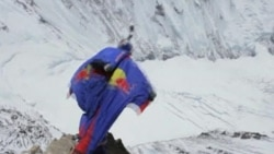 Russian Extreme Sports Star Marks Everest Anniversary with Dramatic Jump