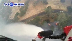 VOA60 America - California's largest wildfire in its history is now 36 percent contained
