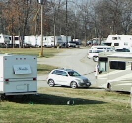 More than 20 homeless families currently live at the Timberline Campground in Lebanon, Tennesee.