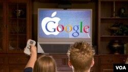 Google dan Apple tengah bekerja sama dengan para penyedia program televisi AS untuk memasang video-video tambahan di internet.