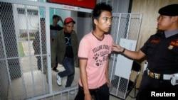 Napi yang menerima remisi dan bebas dari LP Cipinang, Jakarta (foto: ilustrasi). Polisi menemukan narkoba jenis baru dalam penggeledahan di LP Narkotika, Cipinang.