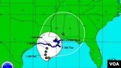 El sistema se ha organizado y se convirtió en la tormenta tropical Lee, y afectará las costas de Luisiana durante el fin de semana.