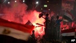 3일 이집트 카이로 나스르 시티에서 시위 벌이는 무르시 지지자들 (자료사진)