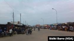 En images : deuxième journée de la révolte des mutins à Bouaké