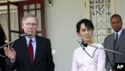 برما پرعائد پابندیاں ہٹانے کا معاملہ زیر غورہے: مک کونیل