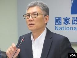 台湾前政府发言人孙立群