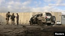 محل حمله انتحاری امروزی در حوزه نهم کابل