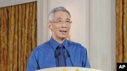 新加坡总理李显龙(2020年4月)