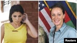 Bà Jill Kelley (trái)và Paula Broadwell (phải).