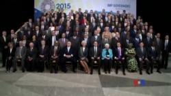 2015-04-19 美國之音視頻新聞:G20國討論如何落實IMF改革建議