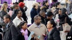 Ðơn xin trợ cấp thất nghiệp giảm là dấu hiệu cho thấy thị trường lao động của nước Mỹ đang cải thiện.