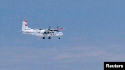 中国国家海洋局运-12飞机