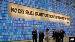 9/11 အမွတ္တရျပတုိက္ ဖြင့္လွစ္။ (ေမ ၁၅၊ ၂၀၁၄)