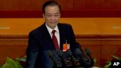Phần lớn những gì mà Thủ tướng Trung Quốc Ôn Gia Bảo đề cập tới trong bài diễn văn cuối cùng của ông trước quốc hội là những điều mà nhiều người đã dự kiến