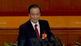 Chinese Premier Wen Jiabao, whose family's wealth came under scrutiny from the New York Times. The Times also revealed Wen's daugher's lucractive contract with JP Morgan.