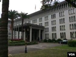 台湾外交部(美国之音申华 拍摄)