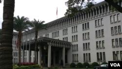 台灣外交部(美國之音申華 拍攝)